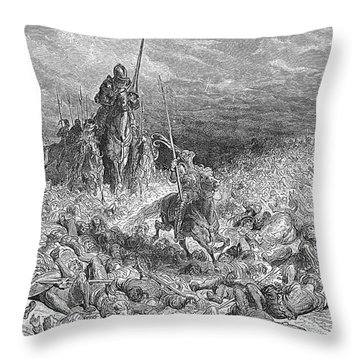 Rabelais: Gargantua Throw Pillow by Granger