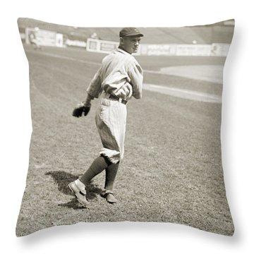 Raymond Johnson Chapman Throw Pillow by Granger