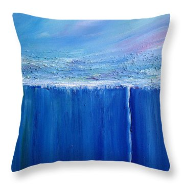 Reflection Of Yesterday Series Throw Pillow by Dolores  Deal