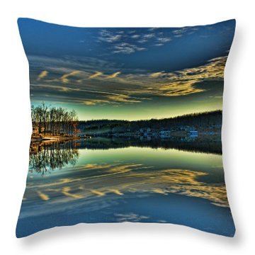 Throw Pillow featuring the photograph Reflection by Rick Friedle