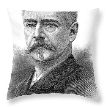 Richard Morris Hunt Throw Pillows
