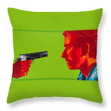 Ringo Throw Pillow by Ellen Patton