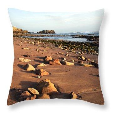 Rocks Throw Pillow by Svetlana Sewell