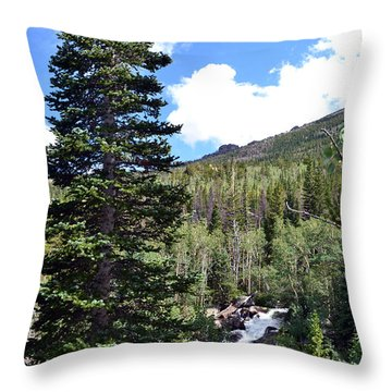 Rocky Mountain National Park2 Throw Pillow by Zawhaus Photography