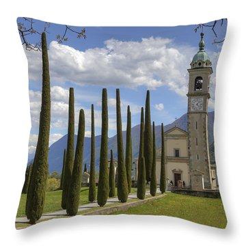 Sant'abbondio Throw Pillow by Joana Kruse