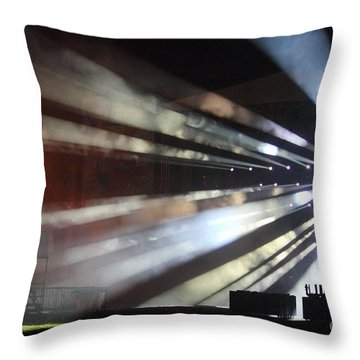Searching For The Sound Throw Pillow by Jesse Ciazza