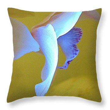 Searching Throw Pillow by Shirley Sirois