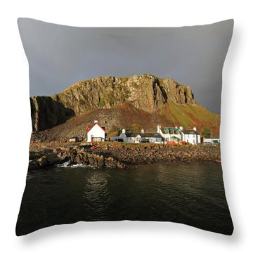 Seil Island Throw Pillow