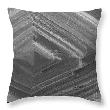 Sem Of A Diamond Throw Pillow by Ted Kinsman