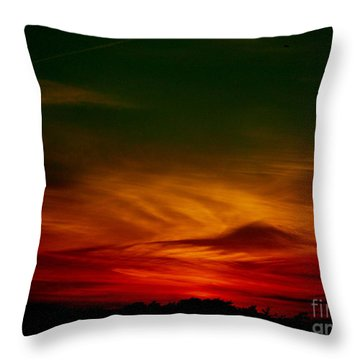 September 30 2007 Throw Pillow by Mark Gilman