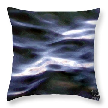 Serenity Throw Pillow by Dale   Ford
