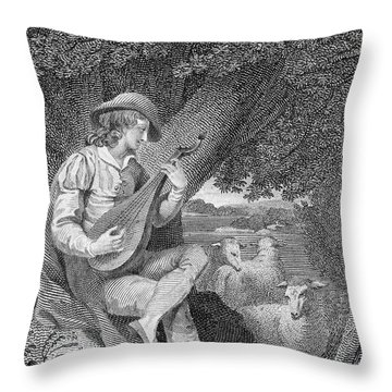 Shepherd Throw Pillow by Granger