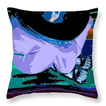Siesta Throw Pillow by Everette McMahan jr