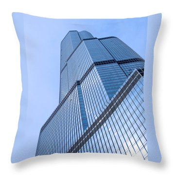 Skyward Throw Pillow by Ann Horn
