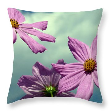 Throw Pillow featuring the photograph Skyward by Janice Drew