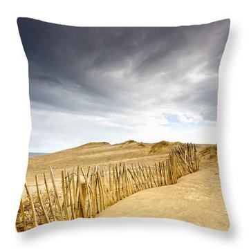 South Shields, Tyne And Wear, England Throw Pillow by John Short