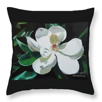 Southern Bell Throw Pillow