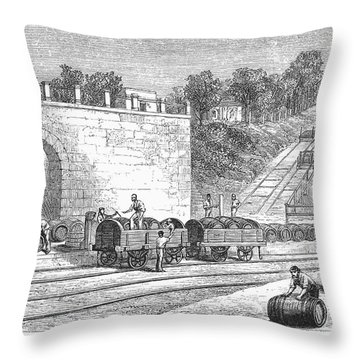 Spain: Winery Throw Pillow by Granger