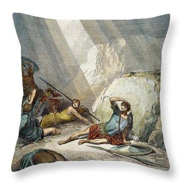 St. Paul: Conversion Throw Pillow by Granger