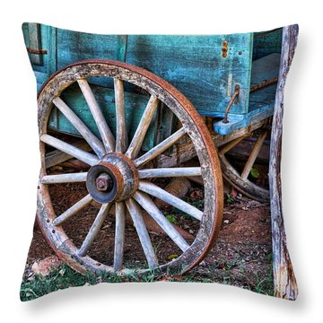 Standing The Test Of Time Throw Pillow