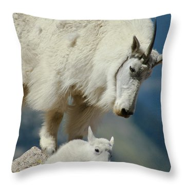 Standing Watch Throw Pillow
