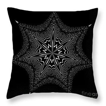 Star Fish Kaleidoscope Throw Pillow