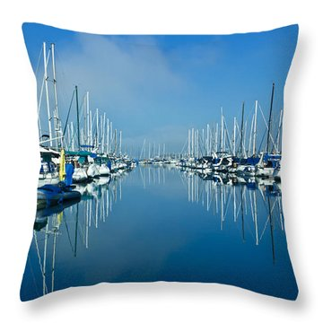 Still Waters Throw Pillow by Heidi Smith