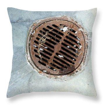 Streets Of La Jolla 6 Throw Pillow by Marlene Burns