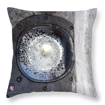 Streets Of Scottsdale 2 Throw Pillow by Marlene Burns