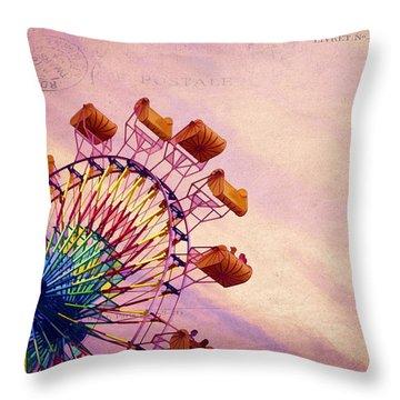 Summer Fun Throw Pillow by Darren Fisher