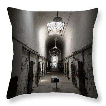 Sweet Home Penitentiary Throw Pillow by Richard Reeve