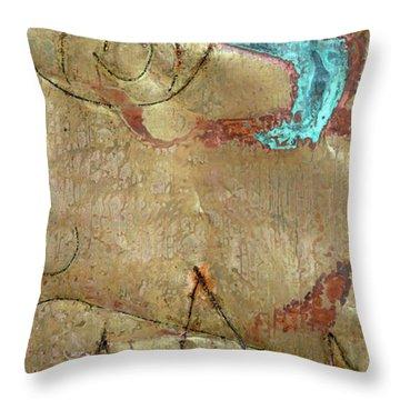 Te Recuerdo 1 Throw Pillow by Jorge Berlato