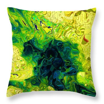 The Core Throw Pillow by Jen Sparks