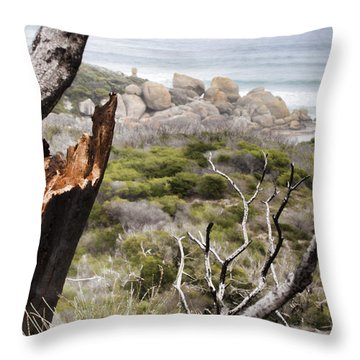 The Death Of A Tree V2 Throw Pillow
