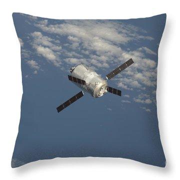 The Edoardo Amaldi Automated Transfer Throw Pillow by Stocktrek Images