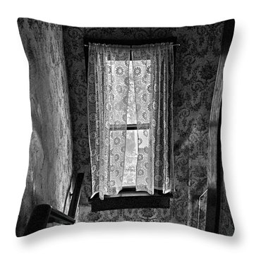 The Hiding Artist Throw Pillow by Jerry Cordeiro