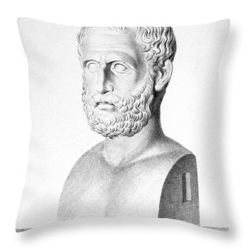 Theophrastus Throw Pillow by Granger