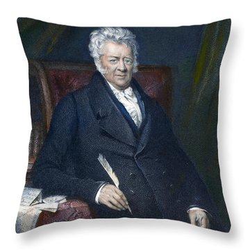 Thomas Clarkson (1760-1846) Throw Pillow by Granger