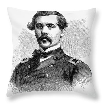 Thomas Francis Meagher Throw Pillow by Granger