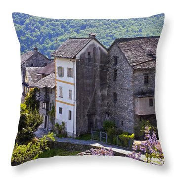 Ticino Throw Pillow by Joana Kruse