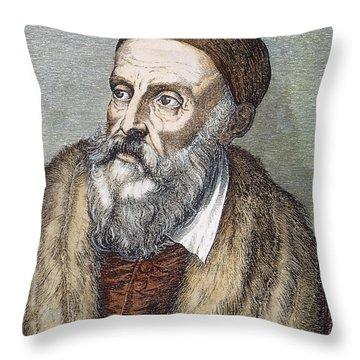 Titian (c1490-1576) Throw Pillow by Granger