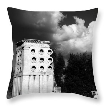 Tomb Of Eurysaces The Baker Throw Pillow by Fabrizio Troiani