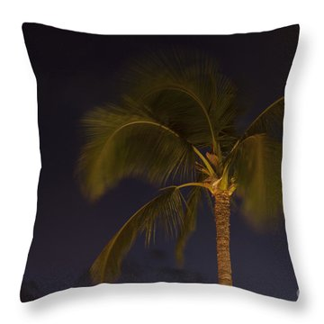 Tropical Paradise Throw Pillow by Sharon Mau