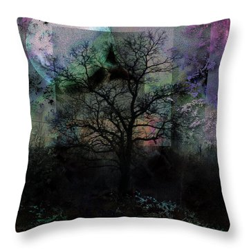 Twilight Throw Pillow by Mimulux patricia no No