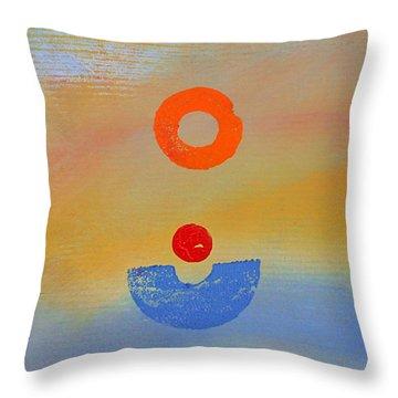 Ultra Marine Throw Pillow by Charles Stuart