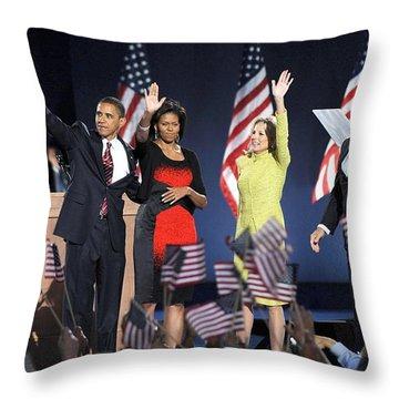 Joe Biden Throw Pillows