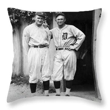 Walter Johnson (1887-1946) Throw Pillow by Granger