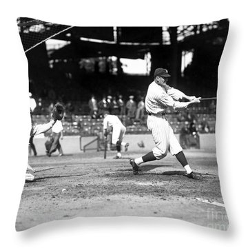 Walter Perry Johnson Throw Pillow by Granger