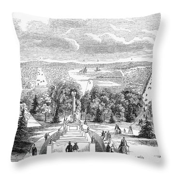 Washington, D.c., 1853 Throw Pillow by Granger
