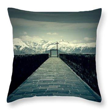 Way To Heaven Throw Pillow by Joana Kruse